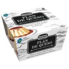 Cheese flan DEPOSTRE 4X100GR Danone