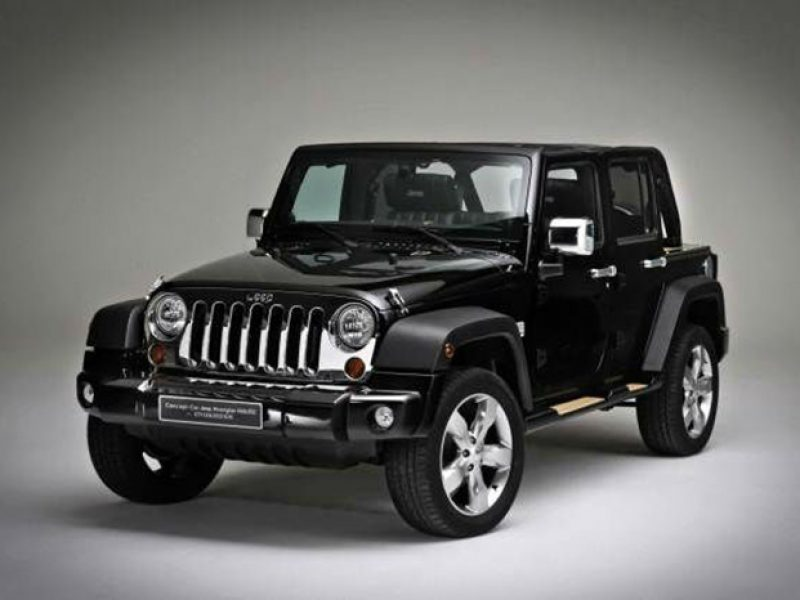 Ibiza car rental Jeep Wrangler