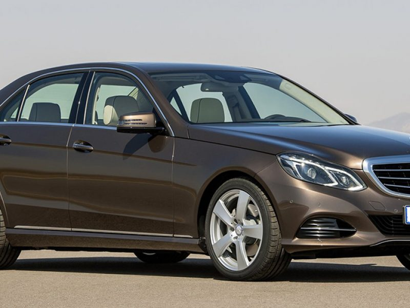 Ibiza car rental Mercedes Benz E class