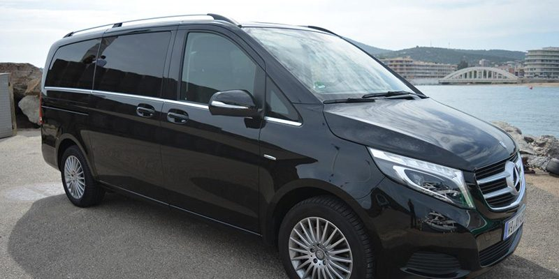 Ibiza car rental Mercedes V Class