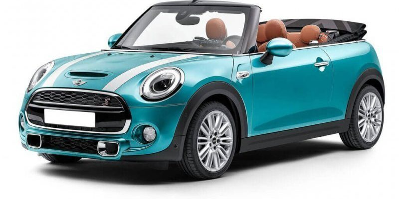 Ibiza car rental Mini Cooper Cabrio