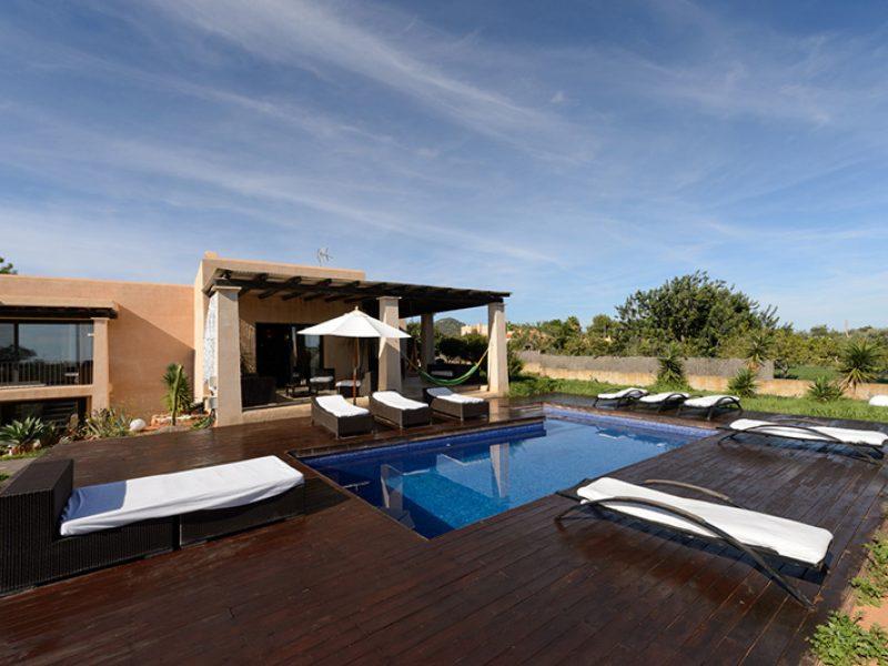 Ibiza villa rental Villa Falco 4