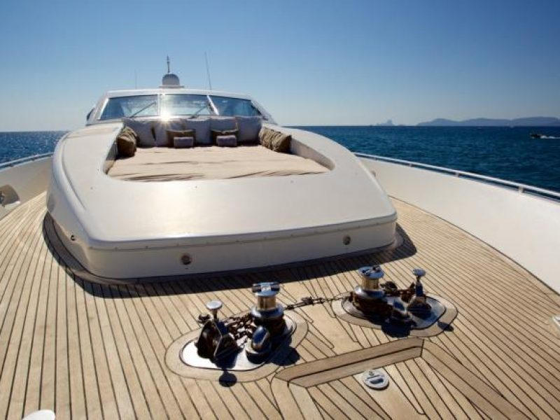 Ibiza yacht rental Yacht Leopard 27