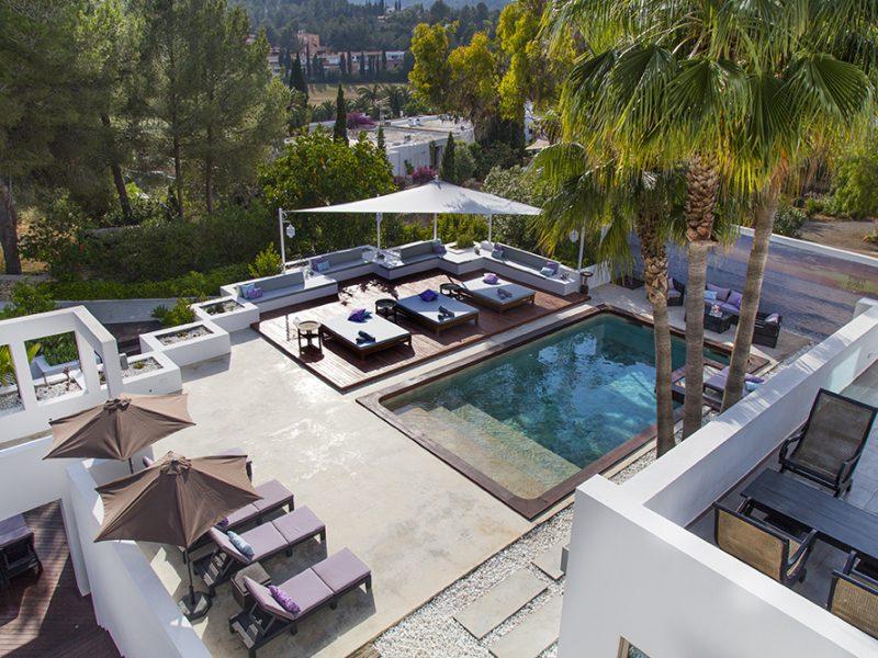 Ibiza villa rental Villa Bikra 6