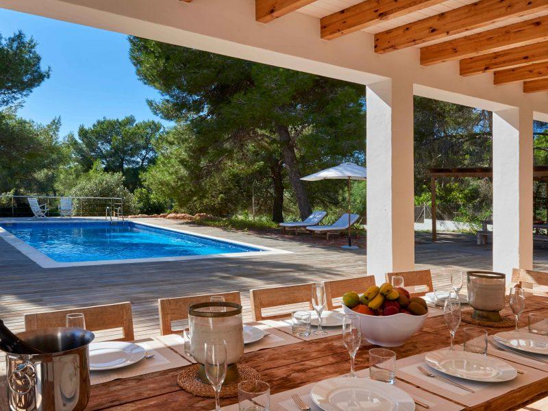 Ibiza villa rental Villa Merli 4